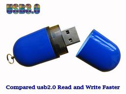 64 Gb Flash Drive Australia - 10 Piece 16GB 32GB No Logo Plastic Pill USB Drives Brand New ABS Plastic Pill USB Flash Disk USB3.0