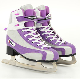 Ice Skating Figures Canada - Japy Skate Figure Skates Dancing Ice Skate Tricks Shoes Adult Child Ice Skates Professional Flower Knife Real Patines