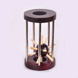 Sea toyS online shopping - Taking Rescue Sea Urchin Take Adult Wooden Decompression Toys Multi Function Home Adornment Factory Direct Sale hr X