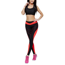 Good Yoga Pants UK - Good! Woman Yoga Pants Sexy Leggings For Fitness Gym Sports Female Stitching Seamless Push Up Running High Waist Sportswear Rn
