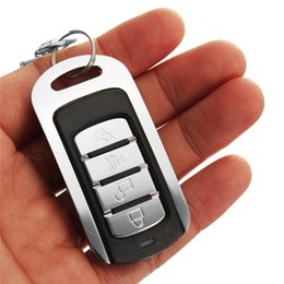 Wireless Door Key Australia - Autoleader 1PC 433.92mhz 12V 4-Channel Wireless Universal Cloning Remote Control Key Fob Electric Gate Garage Door For Car