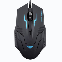 gaming laptop for free UK - Suppion 1600 DPI 3 Button Optical USB Wired Gaming Mouse Mice For PC Laptop Free shipping Wholesale S