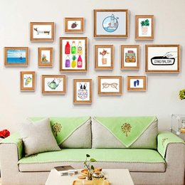 $enCountryForm.capitalKeyWord Australia - 15 Photo Frame Wall Gallery Kit Includes: Hanging Wall Template , Frames,Art Painting Core