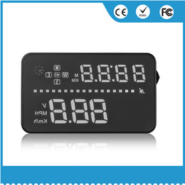 $enCountryForm.capitalKeyWord Australia - Universal auto speed monitor GPS HUD 3.5 inches car head up display dashboard digital HUD projector