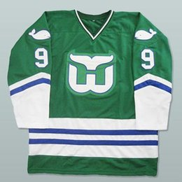 d8526abe6 Gordie Howe Hartford Whalers Hockey Jersey Mens Embroidery Stitched  Customize any number and name Jerseys