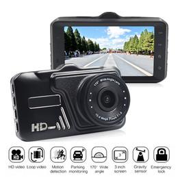 $enCountryForm.capitalKeyWord NZ - New car DVR 3.0 inch full HD 1080P 170 degrees car video dashcam vehicle data recorder loop recording G-sensor parking monitor