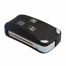 remote systems Australia - Keyless Entry Remotes Fobs Car Remote Uncut Flip Key Shell 3 Buttons for Lexus GS ES RX LX IS