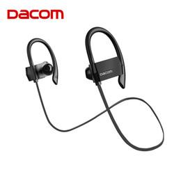 dacom earphones 2019 - Dacom G18 Bluetooth Headset Wireless Headphones Waterproof 4 Hands-free Barbud Running Stereo Sport Earphone for Phone c