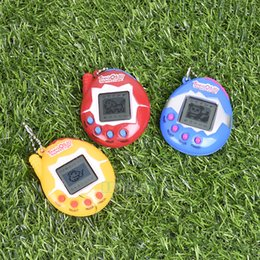 Wholesale 1 PC Color Random Virtual Cyber Digital Pets Electronic Tamagochi Pets Retro Game Funny Toys Xmas Gift