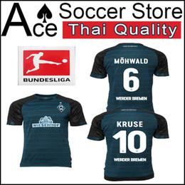 18 19 Werder Bremen home CAMISA camisa de futebol 2018 2019 PERSONALIZA 10 KRUSE 6 MOHWALD 5 AUGUSTINSSON camisas de futebol
