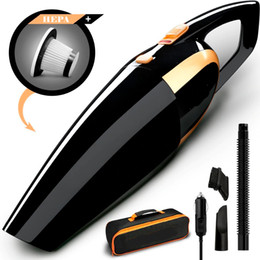Random long online shopping - 4800pa Car Vacuum High power W Car Vacuum Cleaner by V with Long Power Cord Extra Carrying Bag