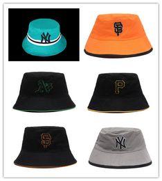 6728239229b4 Top Design new york Bucket Hat For Mens Womens Foldable Fishing Caps Black  Fisherman Beach Sun Visor Sale Folding Man Bowler Cap