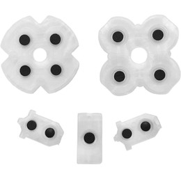 ConduCtive adhesives online shopping - Soft Silicone Conductive Rubber Adhesive Button Pad Pads For PS4 Controller JDS JDS DHL FEDEX EMS