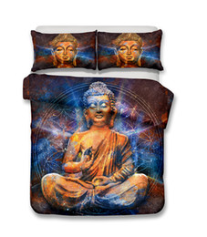 $enCountryForm.capitalKeyWord NZ - 3D Colorful Buddha Statue Adult Religious Bedding Sets, All Size