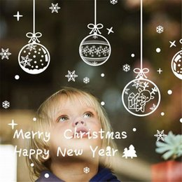 $enCountryForm.capitalKeyWord NZ - Merry Christmas Removable DIY Wall Stickers Shop Window Stickers Noel Christmas Decorations for Home Natal New Year Decoration Y18102909