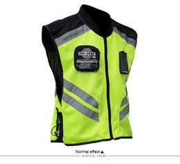 reflective safety vests motorcycle 2019 - Riding Tribe Sleeveless Motorcycle Vest Motorcycle Motocross Jacket Safety Reflective Jacket Sports Racing Moto Vest dis