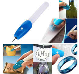 Steel jewellery online shopping - High Quality Mini Engraving Pen Electric Carving Pen Machine Graver Tool Engraver Steel Jewellery Engraver Pen Kit