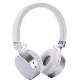 wireless microphone for cell phone 2019 - New Wireless Wired Stereo Headset Handfree Bluetooth Headphones with Noise Cancelling Microphone for Computer Smartphone