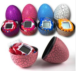 $enCountryForm.capitalKeyWord NZ - Tamagotchi Electronic Pet Machine Keying Pendant With Crack Egg Puzzle Game Consoles Kids Keychain Electronic Pet Toys CCA8241 150pcs Sold