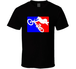 race bmx bikes UK - Bmx Bike Men's Black T Shirt Hutch Trick Star Freestyle Gt Racing New From US