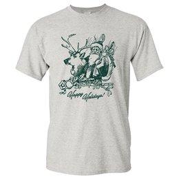 $enCountryForm.capitalKeyWord Canada - Sleeves Boy Cotton T Shirt Crew Neck Short-Sleeve Top Ugp Campus Apparel Happy Holidays Santa Christmas T Shirt For Men