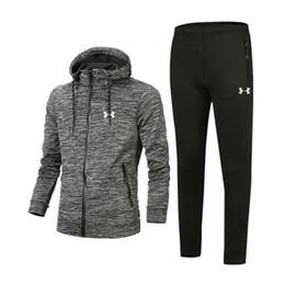 81240163a Chándal de lujo 2018 Best Version Primavera Otoño Chándales de diseño para  hombre Imprimir Zipper Suit Tops + Pants Mens Casual Sweatshirt Sport Suits