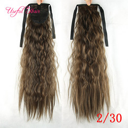 $enCountryForm.capitalKeyWord NZ - hair extensions Pony Tail Hairpieces Drawstring Ponytails comb ponytail curly blonde hair extension clip in hair extensions for black women