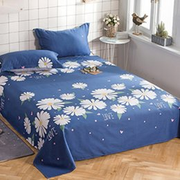 romantic queen size bedding NZ - Summer fashion bed skirt white Plant flowers Romantic fairy twin Full Queen king size cotton fancy bedspreads bedding set
