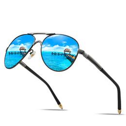 Mirror Tint Sunglasses NZ - Cubojue Mirrored Mens Sunglasses Polarized Aviation Reflective Sun Glasses for Man Driving Tint Film Anti Glare UV400 Sunglass
