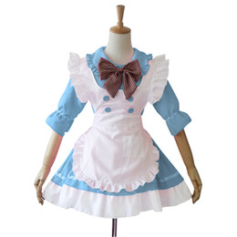 China Shanghai Story women girl maid Cosplay costume anime cartoon Character lolita dress Costumes supplier black lolita cosplay suppliers