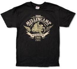 "$enCountryForm.capitalKeyWord NZ - JOHN MELLENCAMP ""RIDER TOUR 2011 (LOWELL-AMES)"" BLK T-SHIRT COUGAR NEW OFFICIAL Mens 2018 fashion Brand T Shirt O-Neck"
