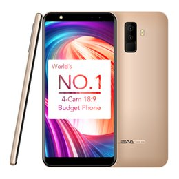 Tv cams online shopping - LEAGOO M9 Smartphone quot Cellphone Full Screen Four Cams Android Mobile Phone MT6580A Quad Core GB RAM GB ROM MP Fingerprint