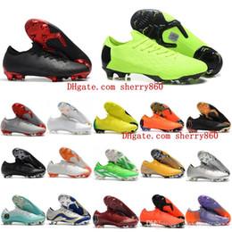 5adba77a1c7 2018 mens soccer cleats Mercurial Vapor VII Elite 360 FG AF cr7 soccer shoes  original mercurial superfly football boots Neymar scarpe calcio