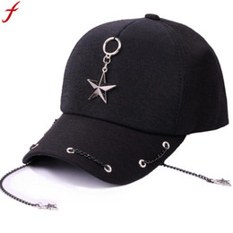 dd513175c8e Women Summer Hats 2018 Baseball Cap Men Women With Five-pointed Stars  Snapback Hat gorras para hombre de marca drop shipping