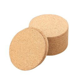 Classic Round NZ - 1000pcs Classic Round Plain Cork Coasters Drink Wine Mats Cork Mats Drink Wine Mat ideas for wedding and party gift