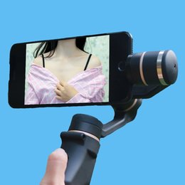 Discount handheld gimbal for smartphone - SUNFLY 3-Axis Handheld Smartphone Gimbal Stabilizer Model for iPhone 7 Plus Samsung S7 S6 VS Zhiyun Smooth Q feiyu FY TE