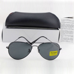 cb77347db78 5pcs Best Quality Classic Pilot Sunglasses Designer Brand Mens Womens Sun  Glasses Eyewear Metal Black 62mm Glass Lenses