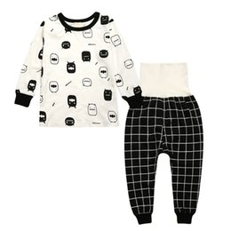 4333e894922a Hot Sale Kids Boys Girls Clothing Sleepwear Pajama Sets Casual Cotton Print  O-Neck Pajamas Suits Lovely Children Home Clothes