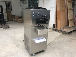 $enCountryForm.capitalKeyWord NZ - Free shipment 2+1 mixed flavors soft ice cream machine yogurt ice cream machine with full refrigerant,SS beater,super silent gear box