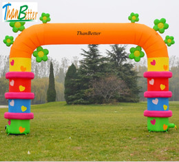 $enCountryForm.capitalKeyWord Canada - ThanBetter Outdoor welcome inflatable flower arch, inflatable archway, inflatable gate