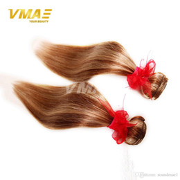 $enCountryForm.capitalKeyWord NZ - Ombre light brown brazilian virgin human straight hair weaves mix color 100% real human hair weave bundle piano color hair extensions