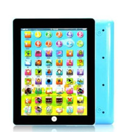 Kids Laptop Learning NZ - New Toy game Tablet pad English Computer Laptop Pad Kids Game Music Education Christmas Electronic Notebook