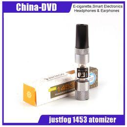 Chinese  100% Original Justfog 1453 atimizer 1.6ml Capacity 14mm Diameter Anti Leakage System 1453 Atomizer for Vape Battery Electronic cigarette manufacturers