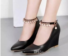 $enCountryForm.capitalKeyWord Canada - Free send Hot New style Slope heel pointed end single shoes woman