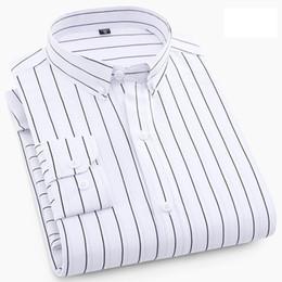 Discount red black striped shirt men - Uwback 2018 Spring Formal Shirts Men Long Sleeve Striped Plaid Casual Shirt Polyester Slim Business Shirt Camisa Masculi