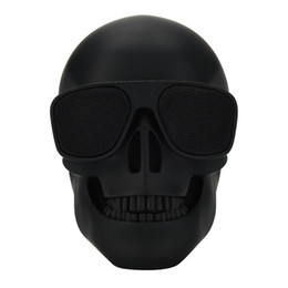 Skull Stereo UK - Skull Protable Wireless Bluetooth Stereo Speaker With HD Sound and Bass Subwoofer column portable sound box wireless