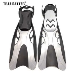 $enCountryForm.capitalKeyWord NZ - Adjustable Swimming fins Open with Long Flippers Professional Training Diving Fins Snorkeling equipment Dive shoes for men women