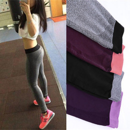 sexy black leggings girl NZ - Women Leggings Fitness black sexy Workout Bodybuilding Quick Dry leggins Elastic slim jeggings pushup Pants for girls