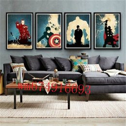4 piece canvas art online shopping - The Superheroes Pieces Home Decor HD Printed Modern Art Painting on Canvas Unframed Framed