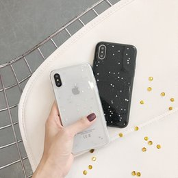 $enCountryForm.capitalKeyWord NZ - Bling Glitter Soft Phone Case For iphone X Case Cute Star Back Cover Love Heart Shining Powder Cases For iphone6 6s 7 8plus